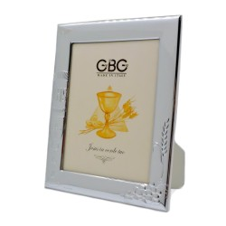 First Holy Communion Glossy Silver Picture Frame 5 x 7