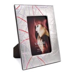 Cornice Portafoto Charm Lilac cm 9 x 13 in Argento Massiccio 925