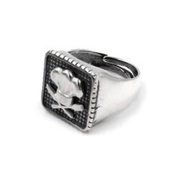 925 Sterling Silver Chef Chevalier Ring