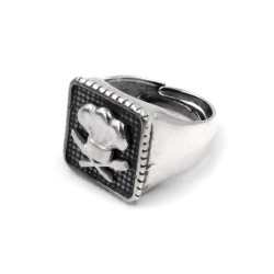 925 Sterling Silver Chef Chevalier Ring