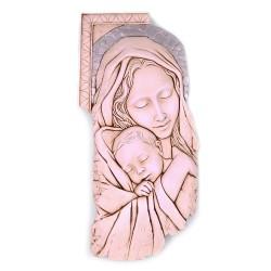 Maternità in Ceramica con Decorazioni Dolcelatte cm 22x44