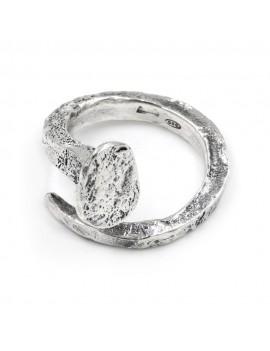 925 Sterling Silver Nail Ring