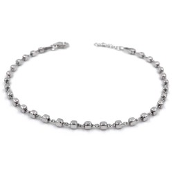 925 Sterling Silver Small Dices Bracelet