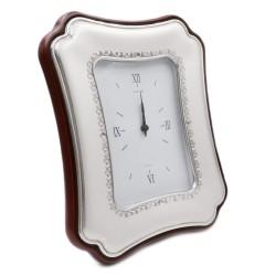 Elisa 925 Sterling Silver Alarm Clock