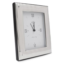 Flow 925 Sterling Silver Alarm Clock