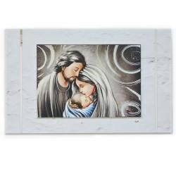 Framework Sacred Headboard Holy Family by Valenti Argenti