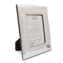 25th Anniversary Satin 925 Sterling Silver Photo Frame 5 x 7