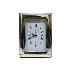 Alarm Clock Glossy in Silver