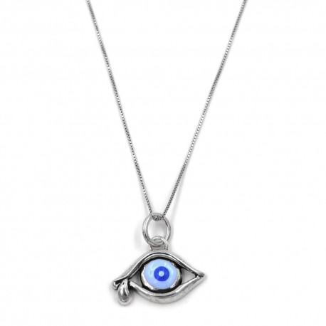 Eye of the Time Salvador Dalì 925 Sterling Silver Necklace