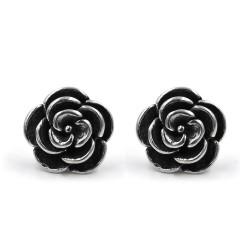 Camellia Earrings 925 Sterling Silver