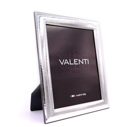 Picture Frame Glossy Hammered by Valenti Argenti cm 20x25