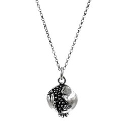 Pomegranate Pendant Necklace