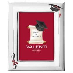 Cornice Laurea con Cappello e Pergamena 13 x 18