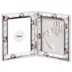 Disney Minnie Mouse Picture Frame with Footprint Kit