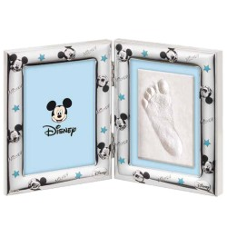 Disney Mickey Mouse Picture Frame with Footprint Kit