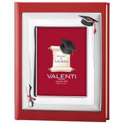 Album Laurea Ecopelle Rosso Valenti 53535