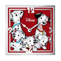 101 Dalmatians Table Clock