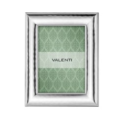Silver Picture Frame Glossy Double Inner Edge 3,5 x 5