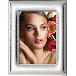 Picture Frame Glossy Hammered Embroidery 7x9