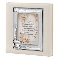 Christening Photo Album Cover Frame 5 x 7