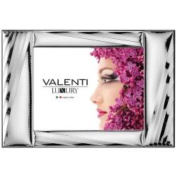 Cornice Portafoto Panoramica Righe cm 32x25 by Valenti Argenti