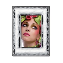 Picture Frame Glossy Rope by Valenti Argenti cm 10x15