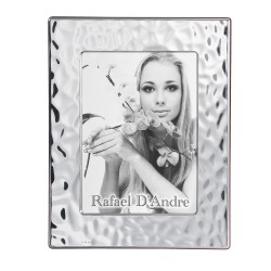 Silver Picture Frame Glossy Sea Effect 5'' x 7''