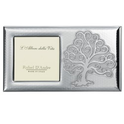Silver Picture Frame Tree of Life 4'' x 4''