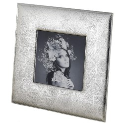 Silver Picture Frame Texture 5 x 5