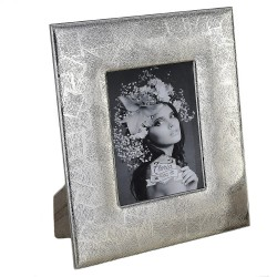 Silver Picture Frame Texture 5 x 7