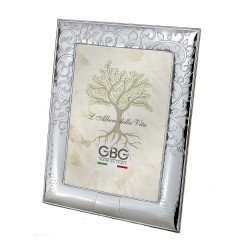 Silver Photo Frame 5 x 7 Tree of Life