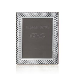 925 Sterling Silver Photo Frame Bricks 4 x 6