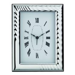 Silver Alarm Clock Glossy Drop