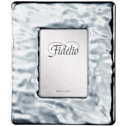 Wide Band Silver Picture Frame 7 x 9