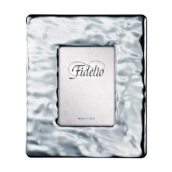 Wide Band Silver Picture Frame 5 x 7