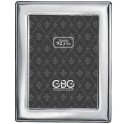 925 Sterling Silver Photo Frame with Round Corners 7 x 9