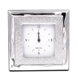 Elenoire Orologio da Tavolo con Funzione Sveglia in argento