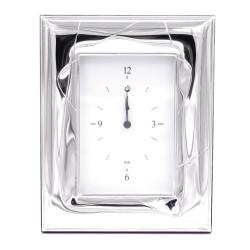 Mirò Orologio da Tavolo con Funzione Sveglia in argento