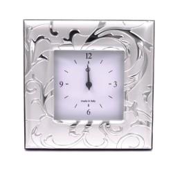 Syria Silver Alarm Clock