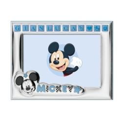 Cornice Portafoto Disney Bambino Topolino Personalizzabile cm 13 x 9