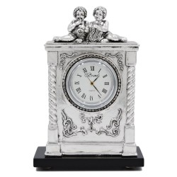 Baroque Desk Clock Children Musicians